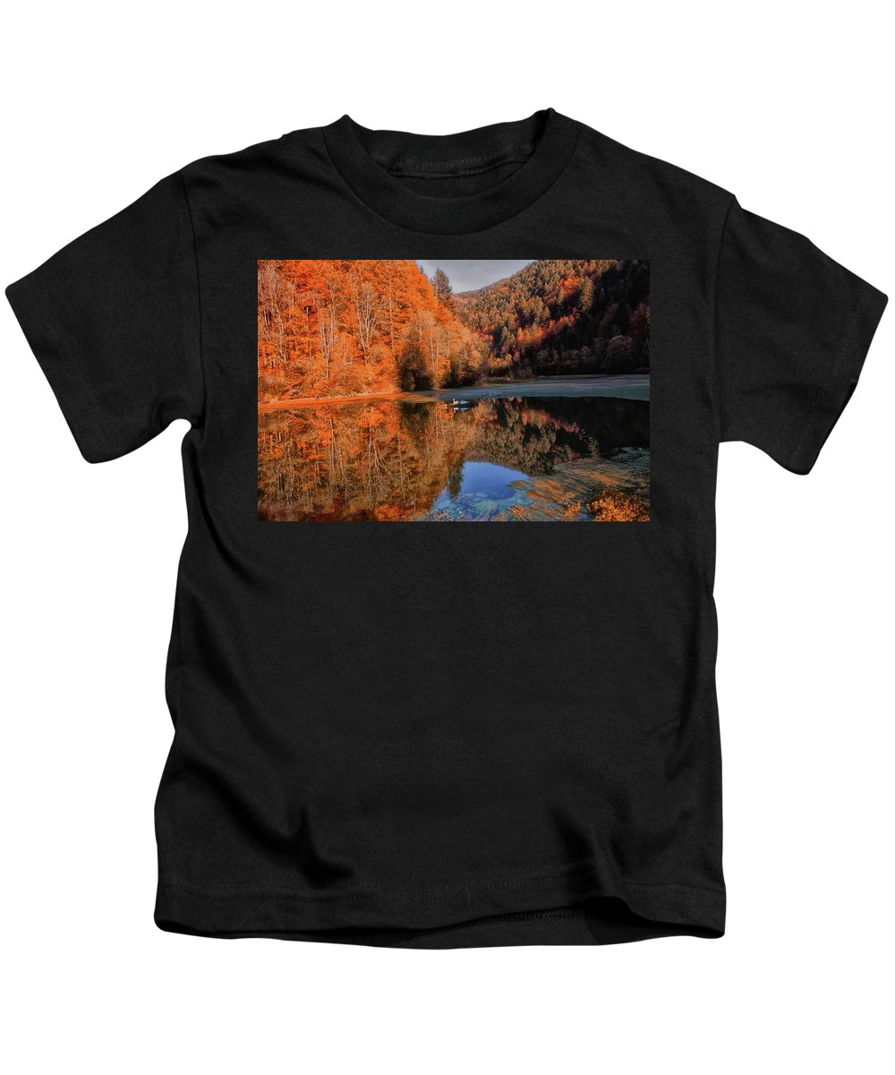 New Kids T-Shirt featuring the photograph Forest by Soares Paulo