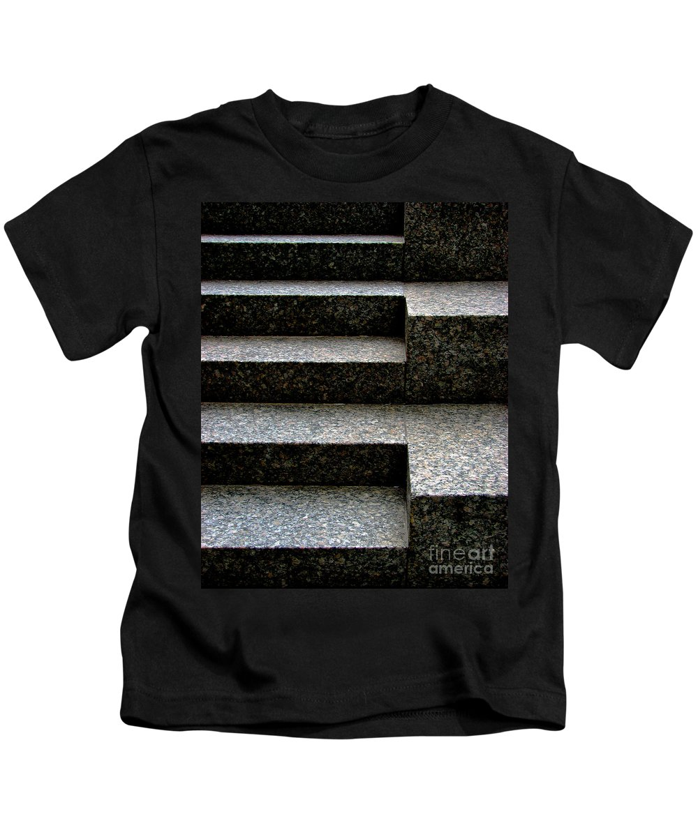 Architectural Kids T-Shirt featuring the photograph Gradation by Dana DiPasquale