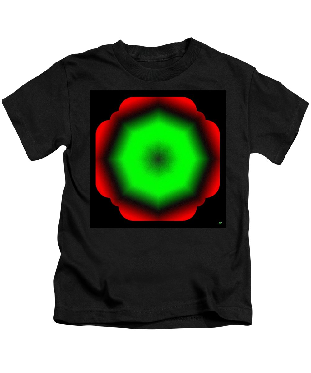 Abstract Kids T-Shirt featuring the digital art Harmony 26 by Will Borden