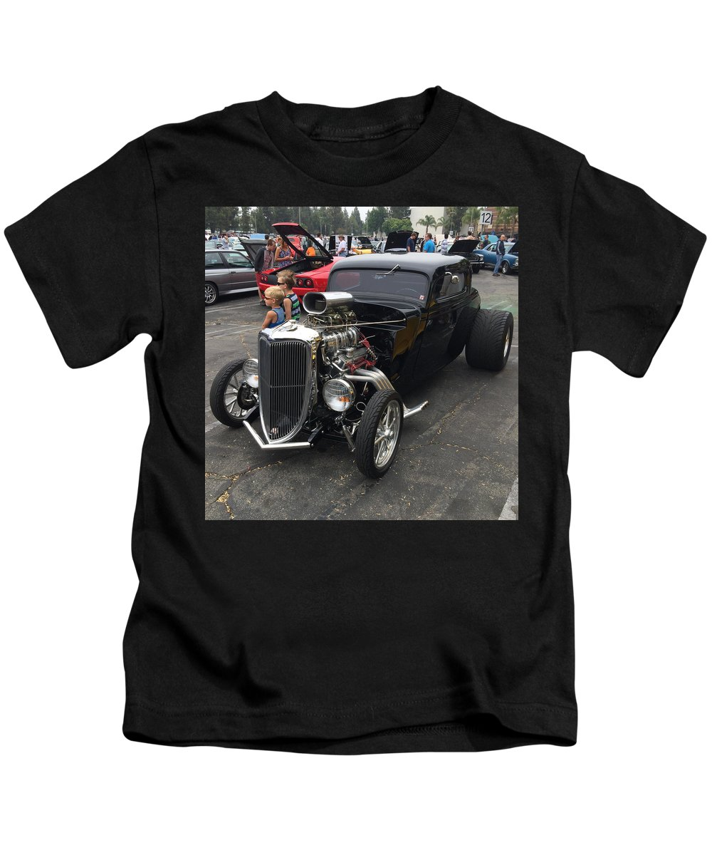 Hot Rod Kids T-Shirt featuring the photograph Hot Rod by MAG Autosport