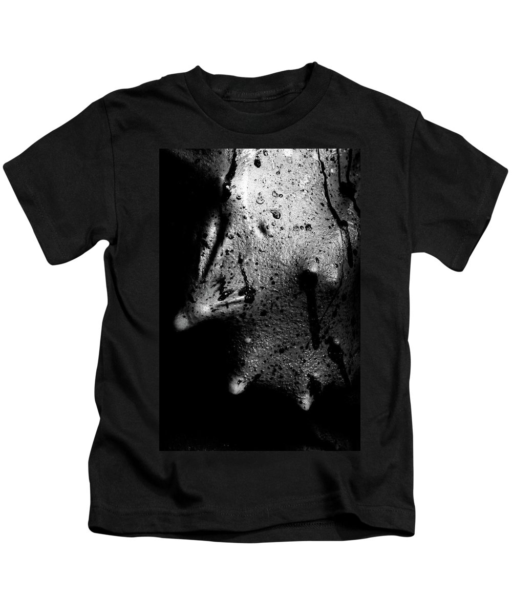 Nude Kids T-Shirt featuring the photograph Liquid Latex by Pavel Jelinek
