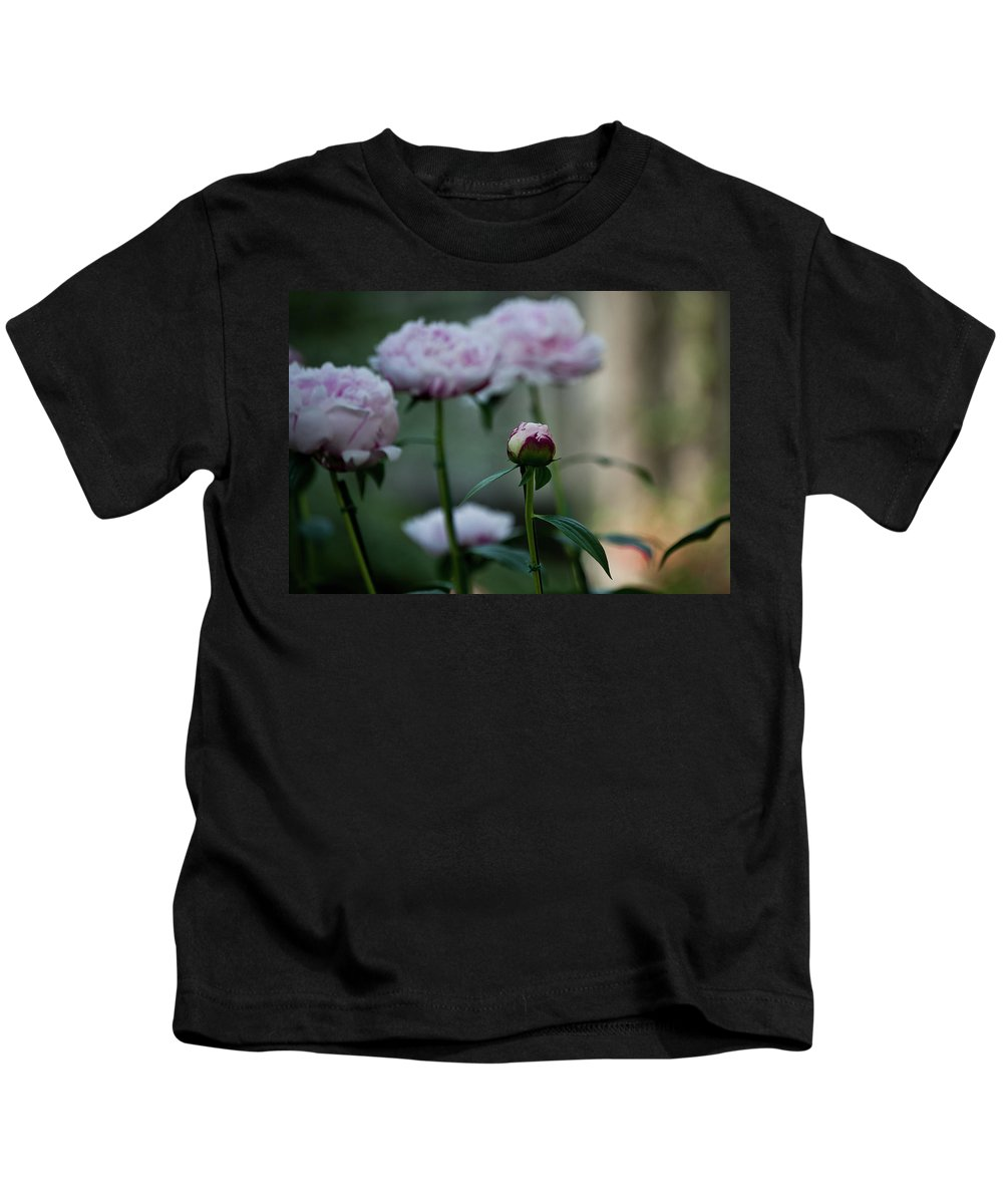 Pink Kids T-Shirt featuring the photograph Little Ditty by Trish Tritz
