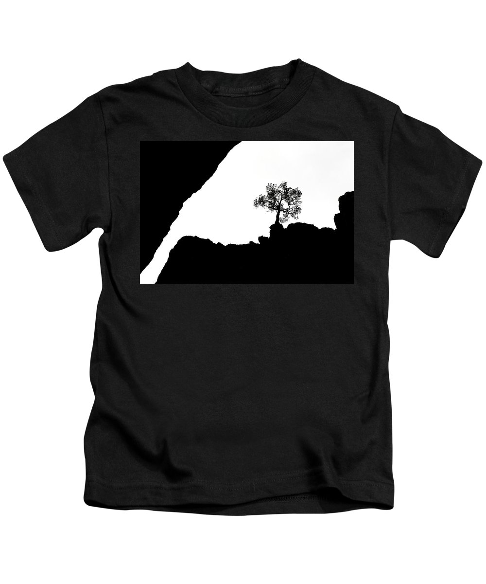 Tree Kids T-Shirt featuring the photograph Looking Up by Marilyn Hunt