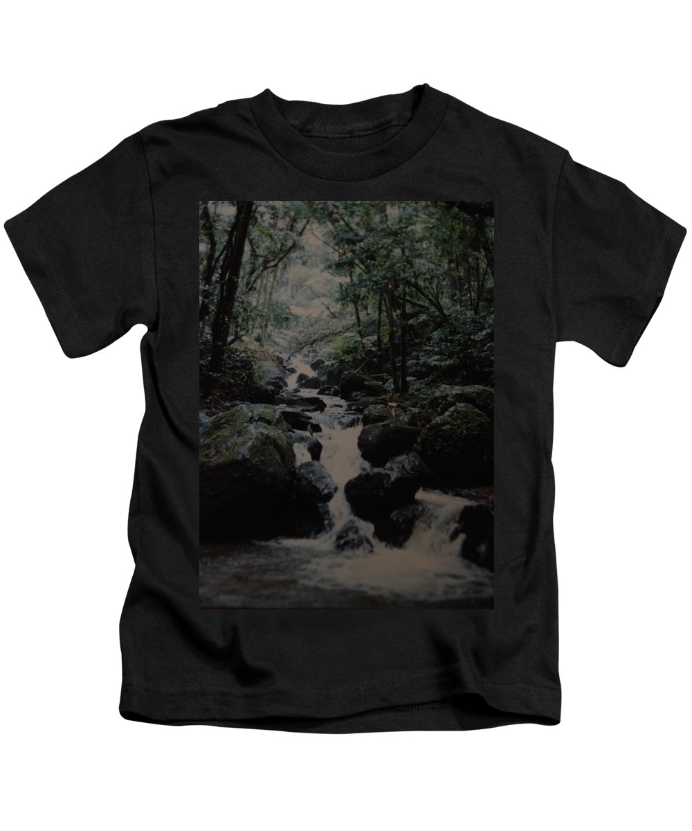 Water Kids T-Shirt featuring the photograph Puerto Rico Water by Rob Hans