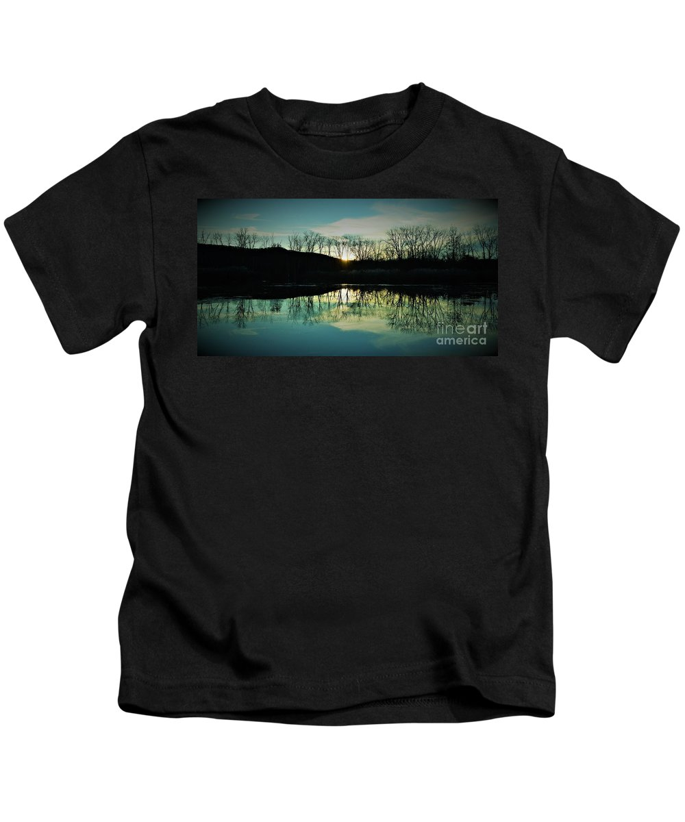 Kids T-Shirt featuring the photograph Reflection by Owen Cramsie