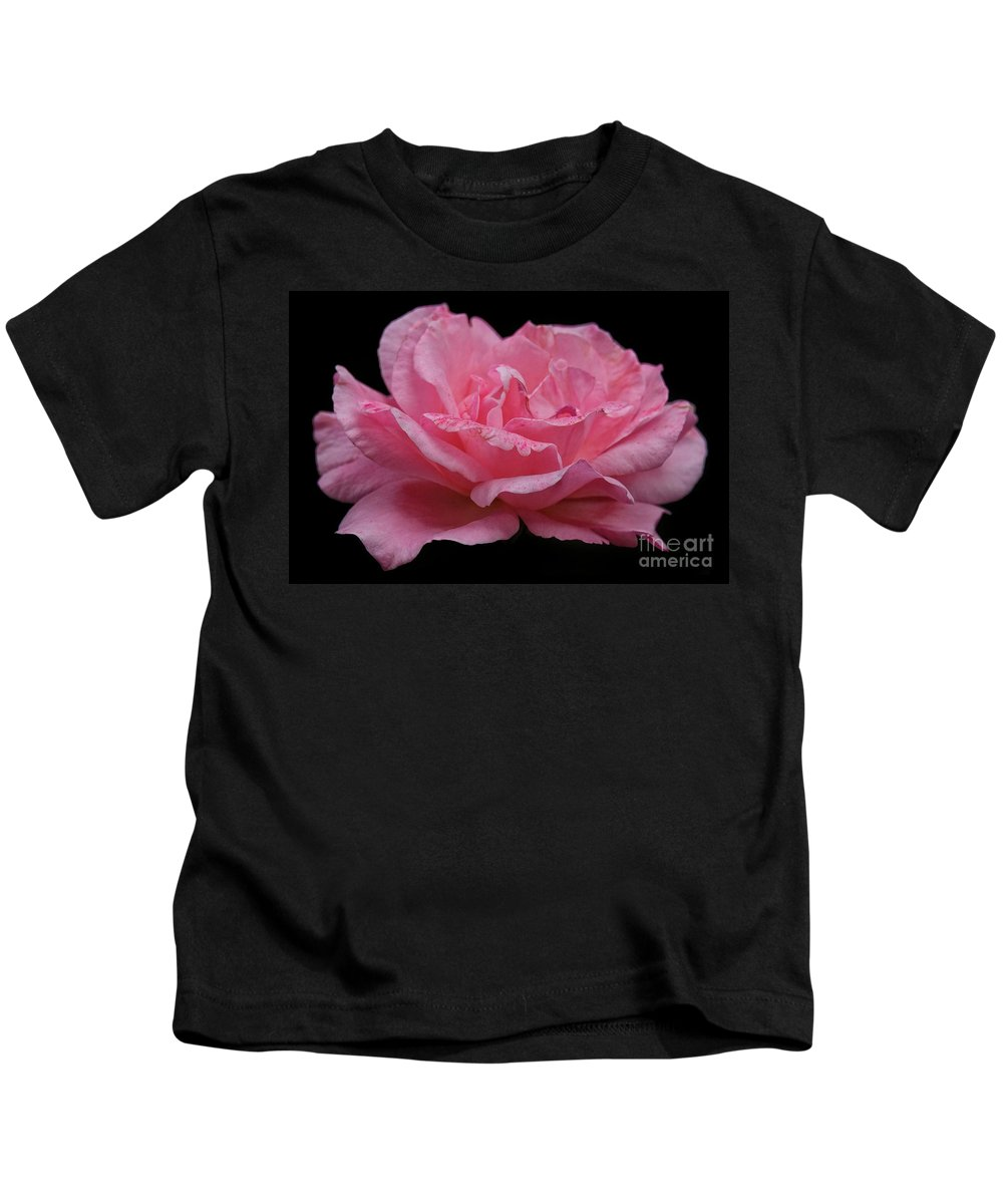 Rose - Flower Kids T-Shirt featuring the photograph Rose - Flower by Dorival Moreira
