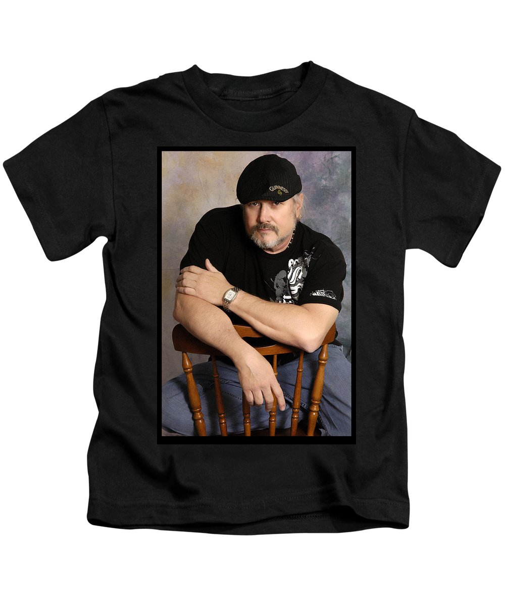 Clay Kids T-Shirt featuring the photograph The Artist by Clayton Bruster