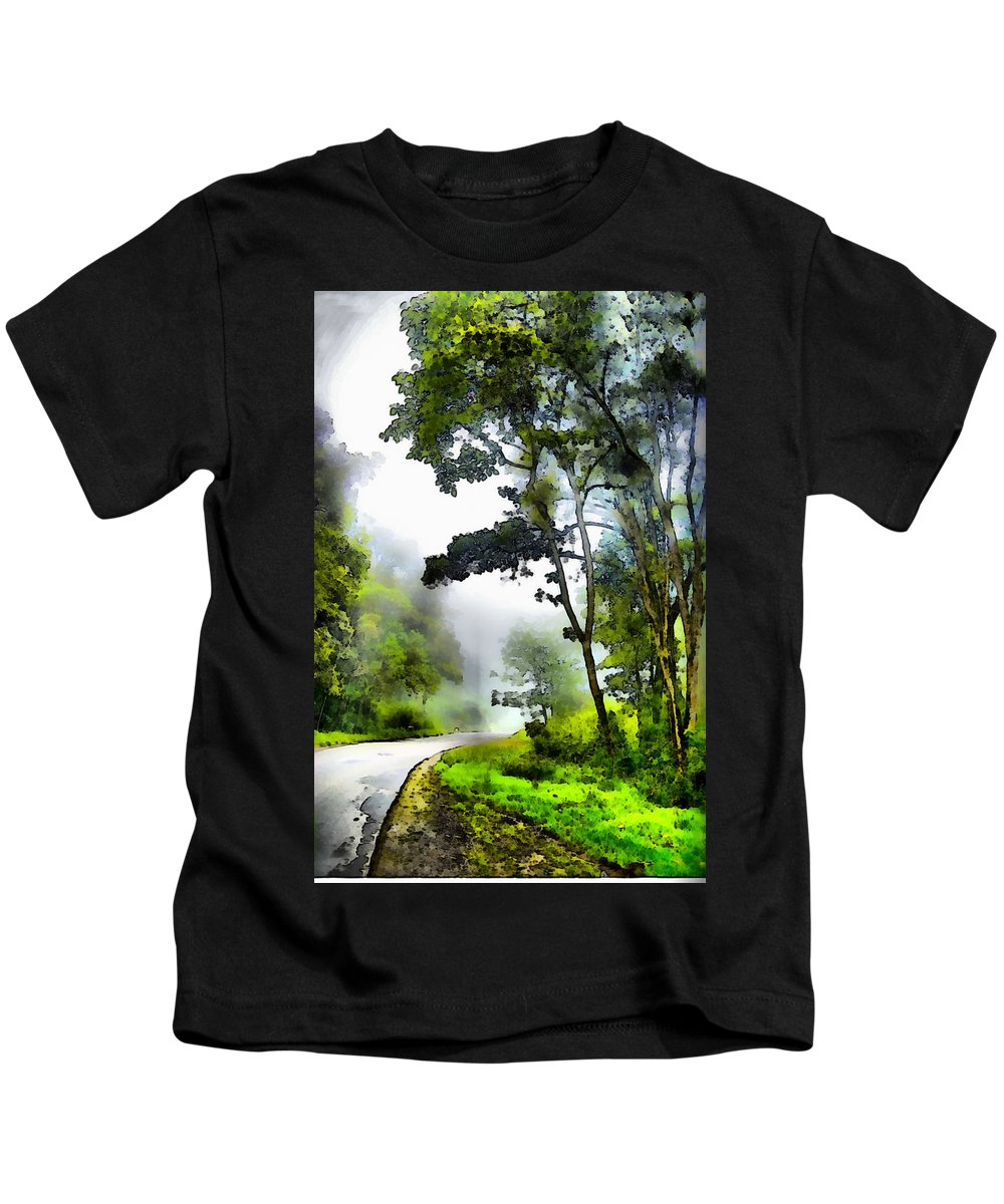 Selva Tropical Kids T-Shirt featuring the photograph Tropical Forest by Galeria Trompiz