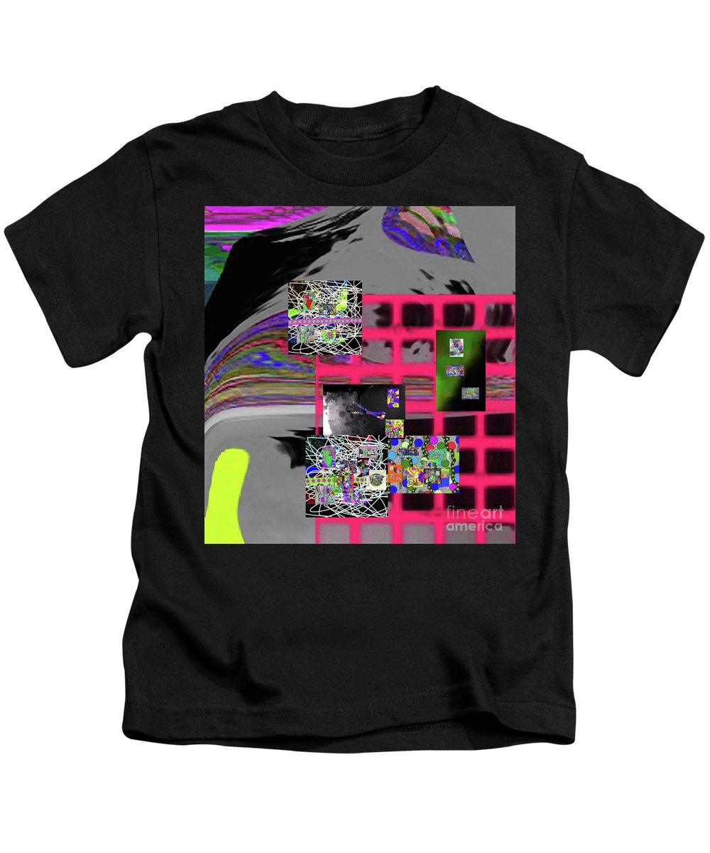 Walter Paul Bebirian Kids T-Shirt featuring the digital art 12-10-2016g by Walter Paul Bebirian