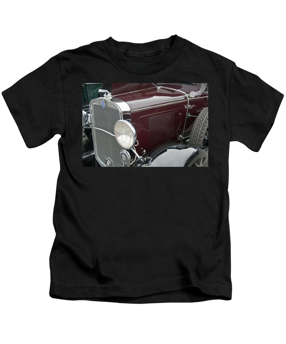 1931 Kids T-Shirt featuring the photograph 1931 Chevrolet Sport Coupe by Glenn Gordon