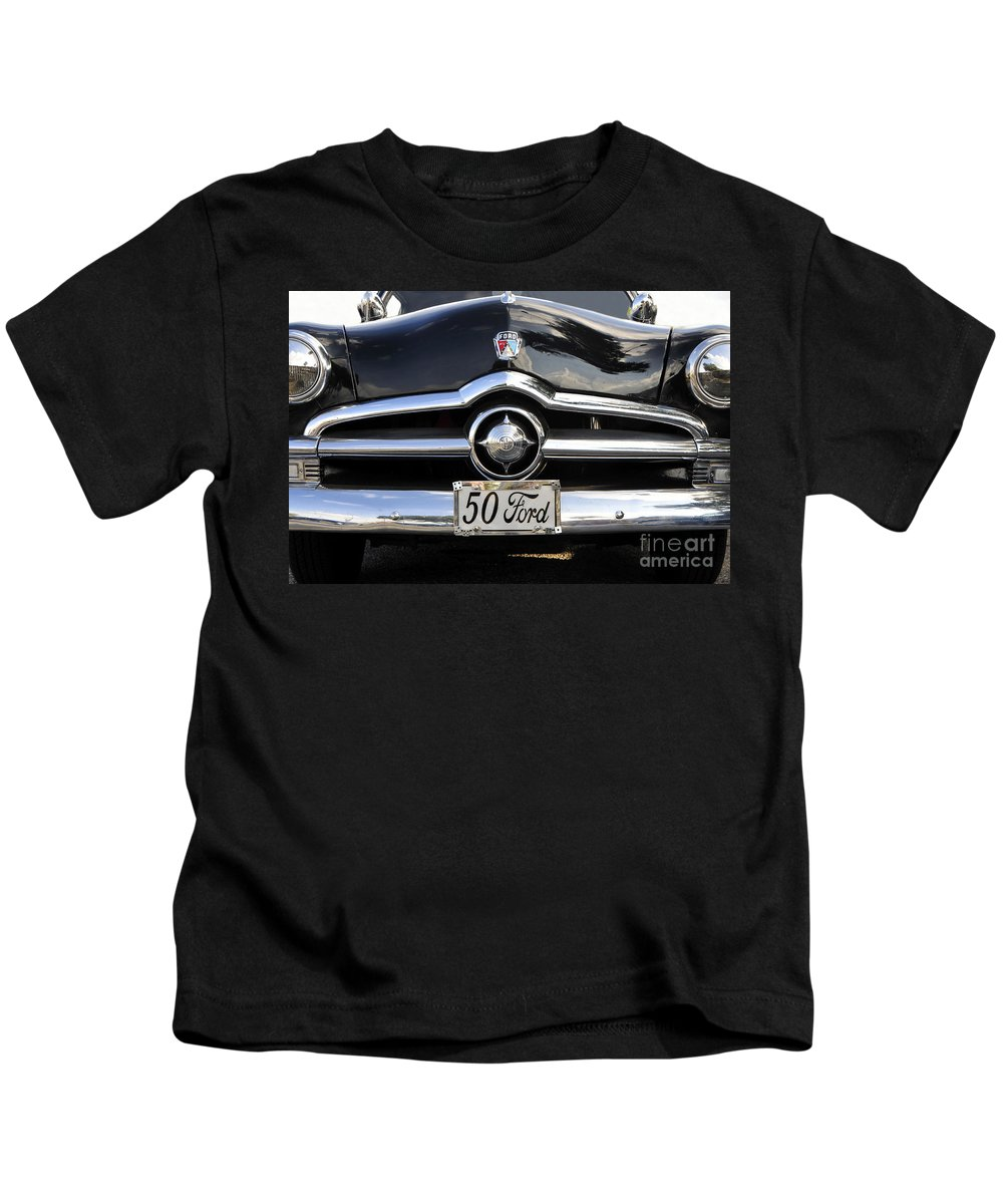 Ford Kids T-Shirt featuring the photograph 1950s Ford by David Lee Thompson
