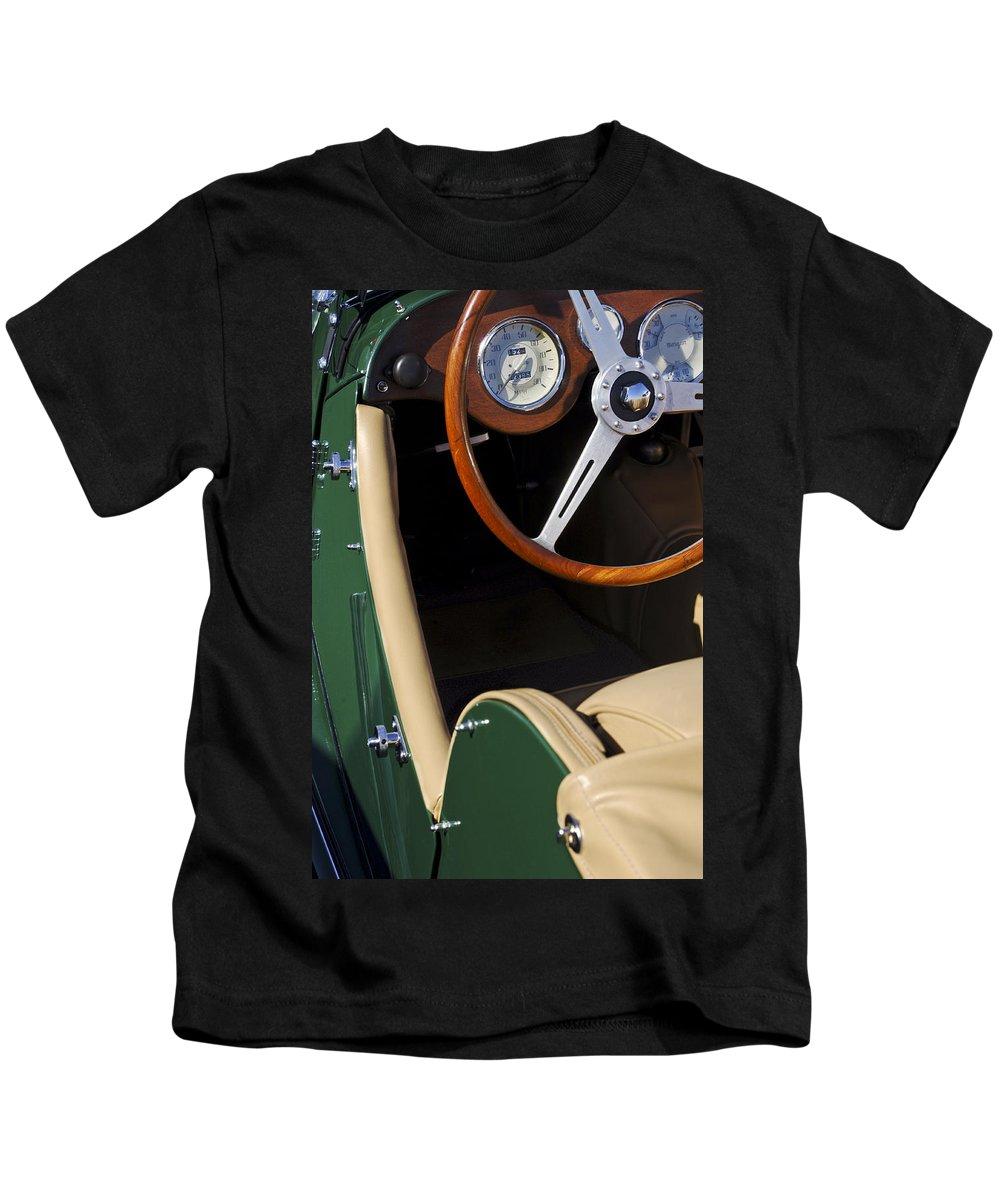 Transportation Kids T-Shirt featuring the photograph 1964 Morgan 44 by Jill Reger