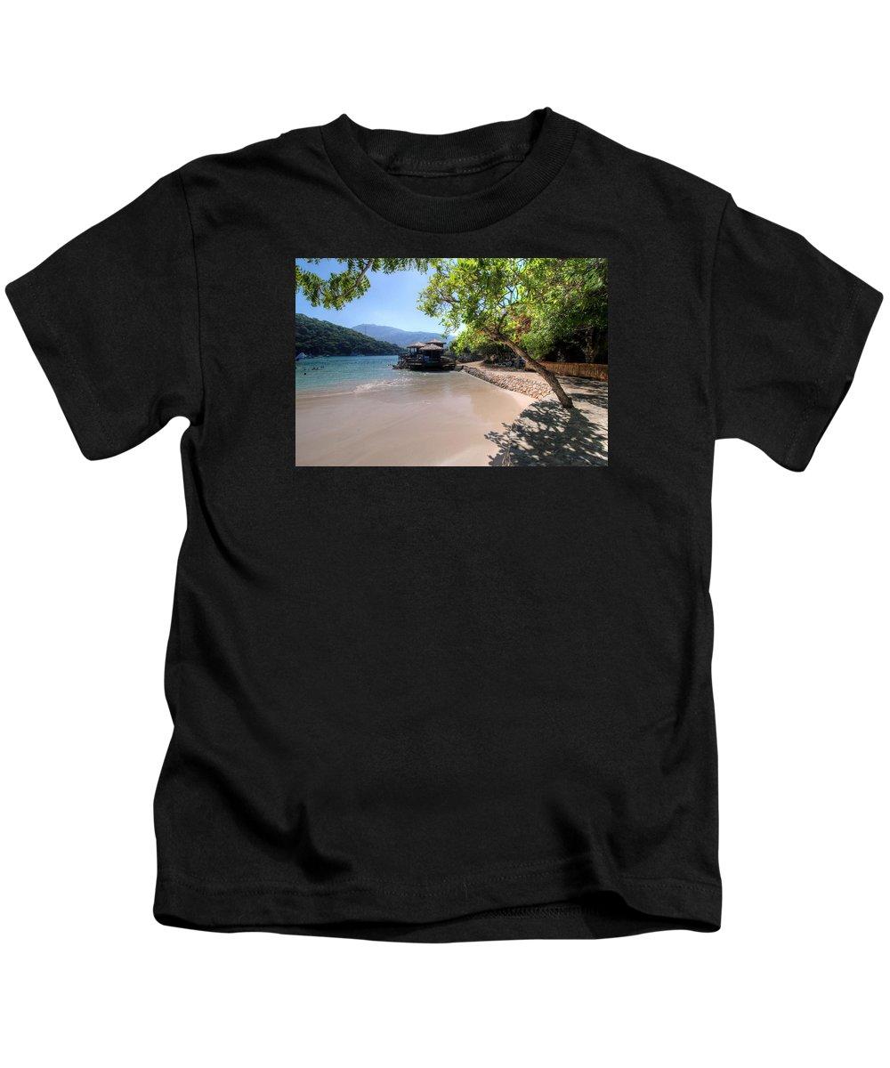 Haiti Kids T-Shirt featuring the photograph Haiti by Paul James Bannerman