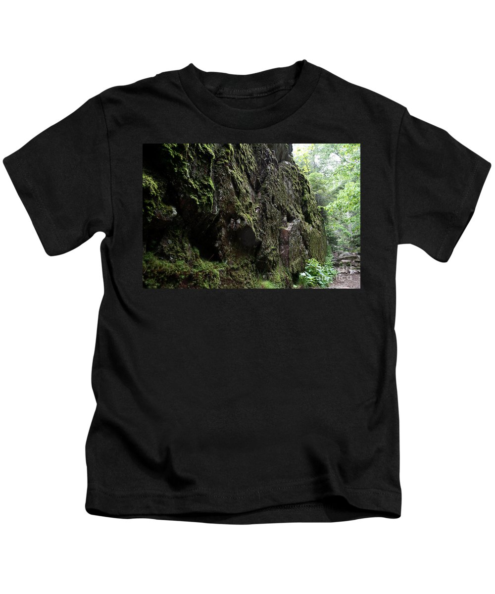 National Park Kids T-Shirt featuring the photograph Lake Superior At Lake Superior by Ted Kinsman