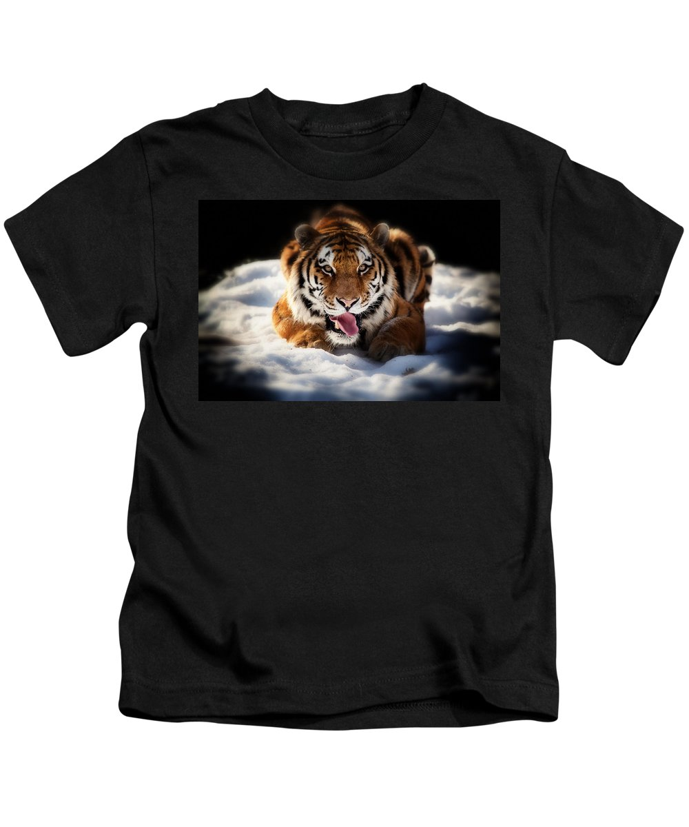 Precious Kids T-Shirt featuring the photograph Open Wide by Karol Livote