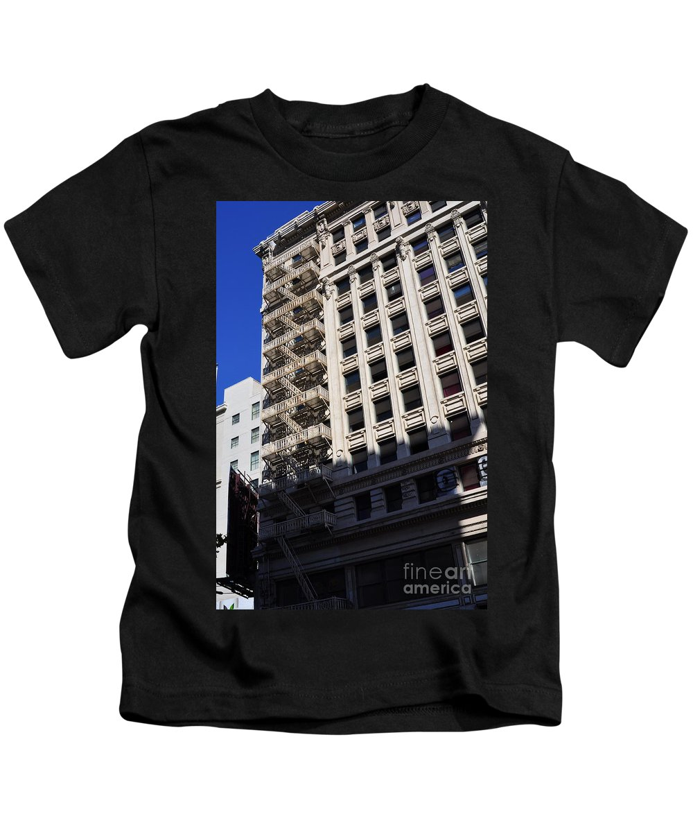 Clay Kids T-Shirt featuring the photograph Street Photography by Clayton Bruster