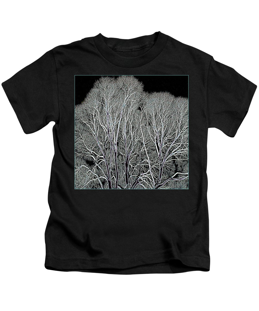 Landscape Kids T-Shirt featuring the photograph Trees by Vladimir Kholostykh