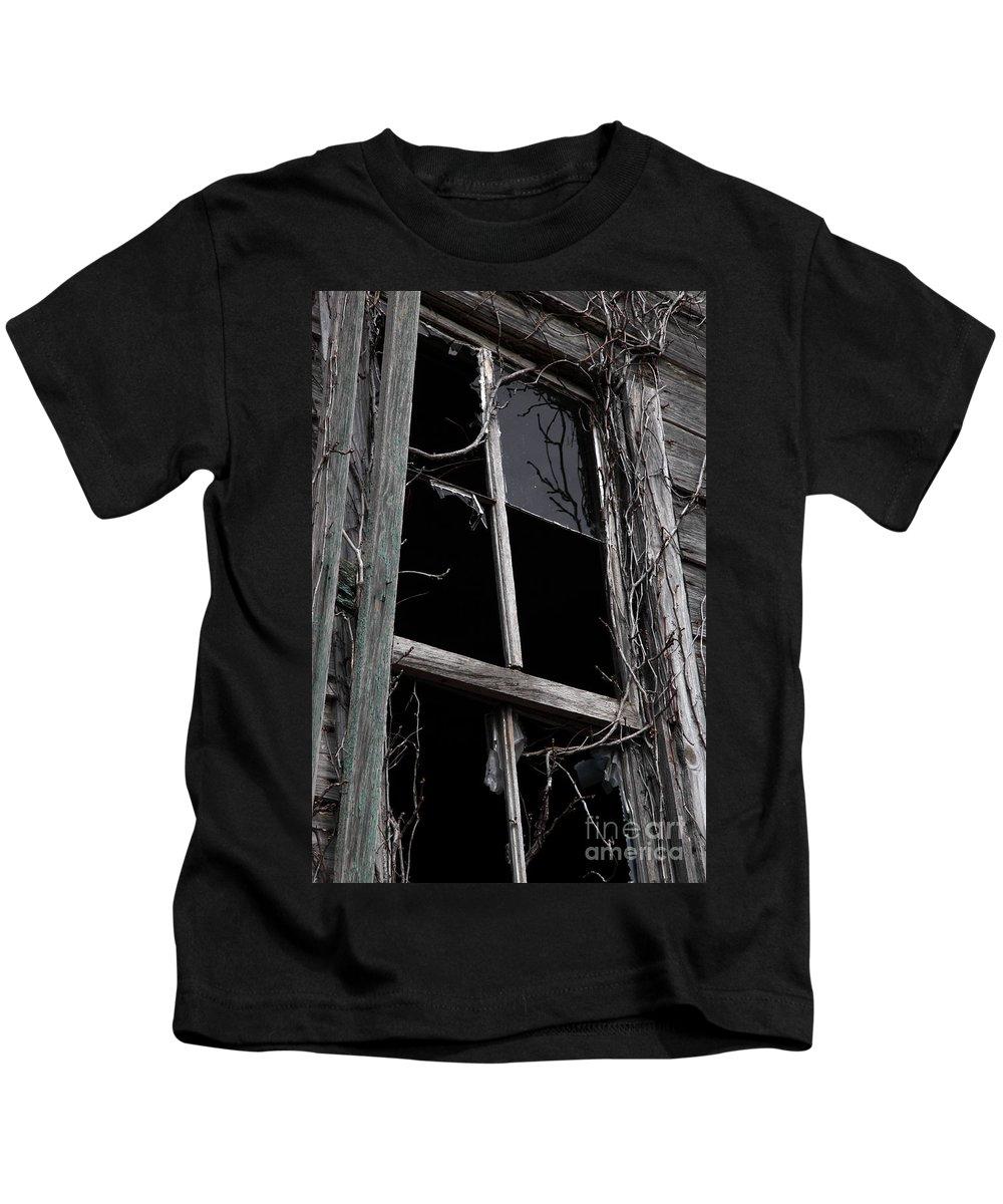 Windows Kids T-Shirt featuring the photograph Window by Amanda Barcon