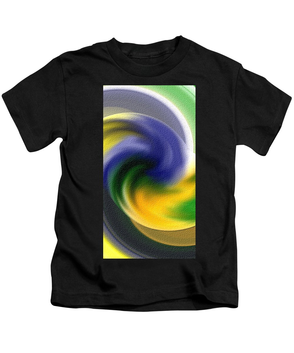 Tornado Kids T-Shirt featuring the digital art Abstract by Galeria Trompiz