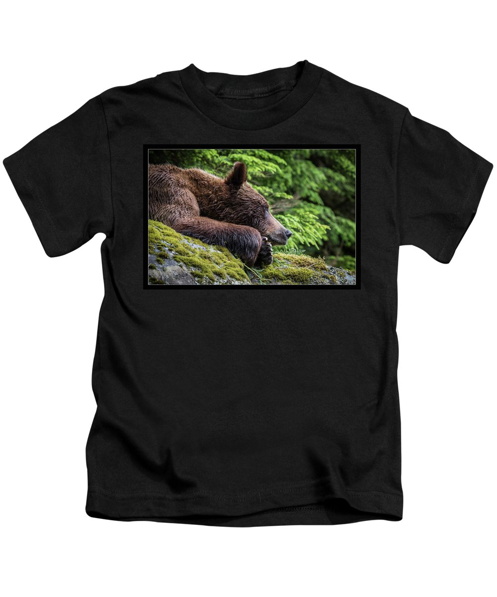 Grizzly Kids T-Shirt featuring the photograph 30 by J and j Imagery