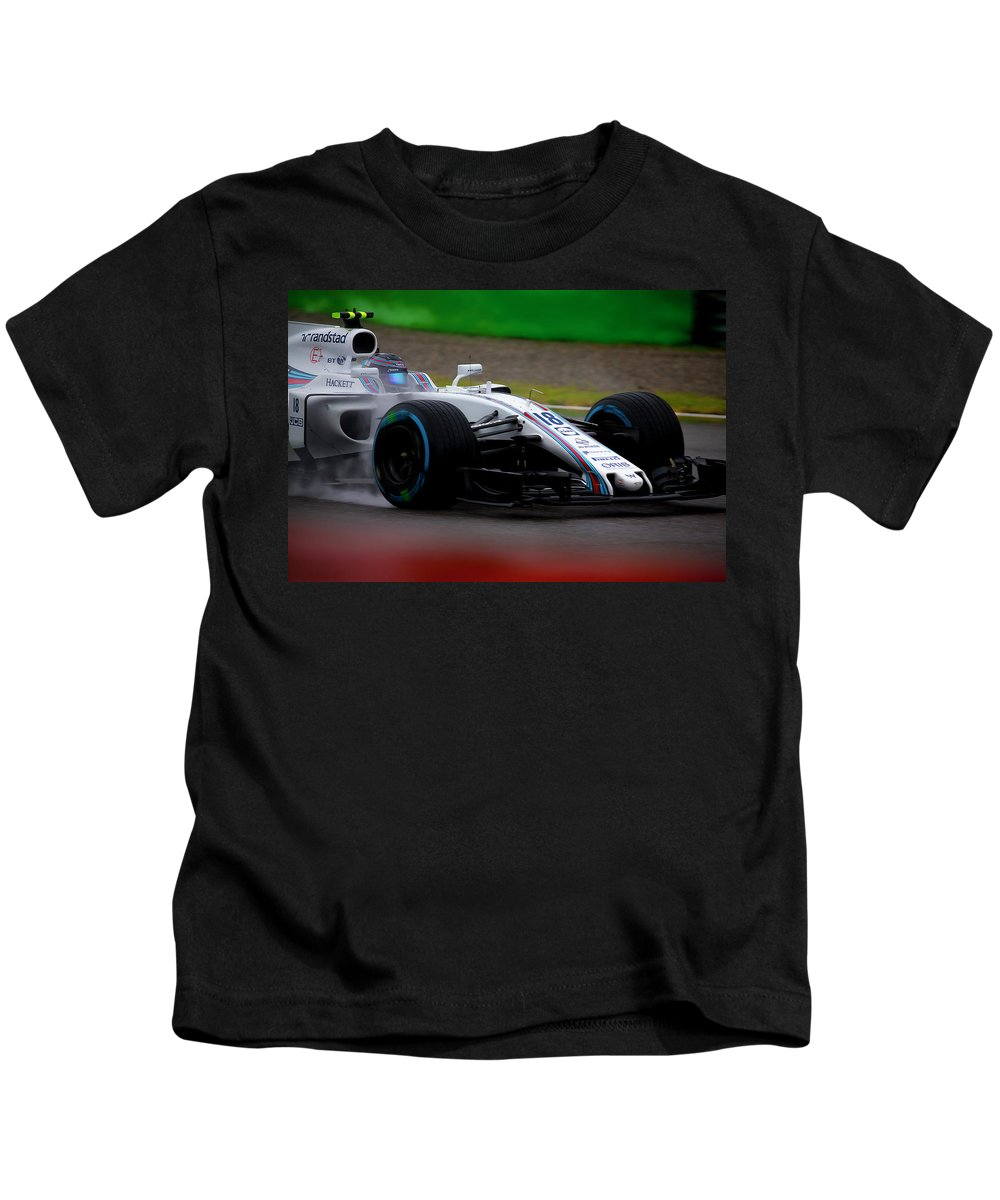 Sauber Kids T-Shirt featuring the photograph Formula 1 Monza 2017 by Srdjan Petrovic