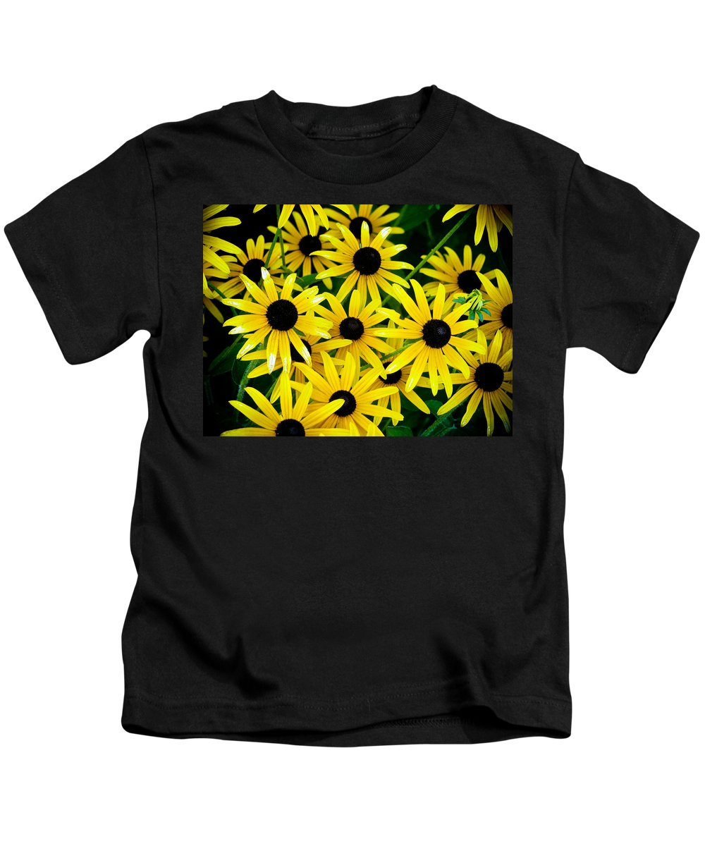 Flower Kids T-Shirt featuring the photograph Flowers by FL collection