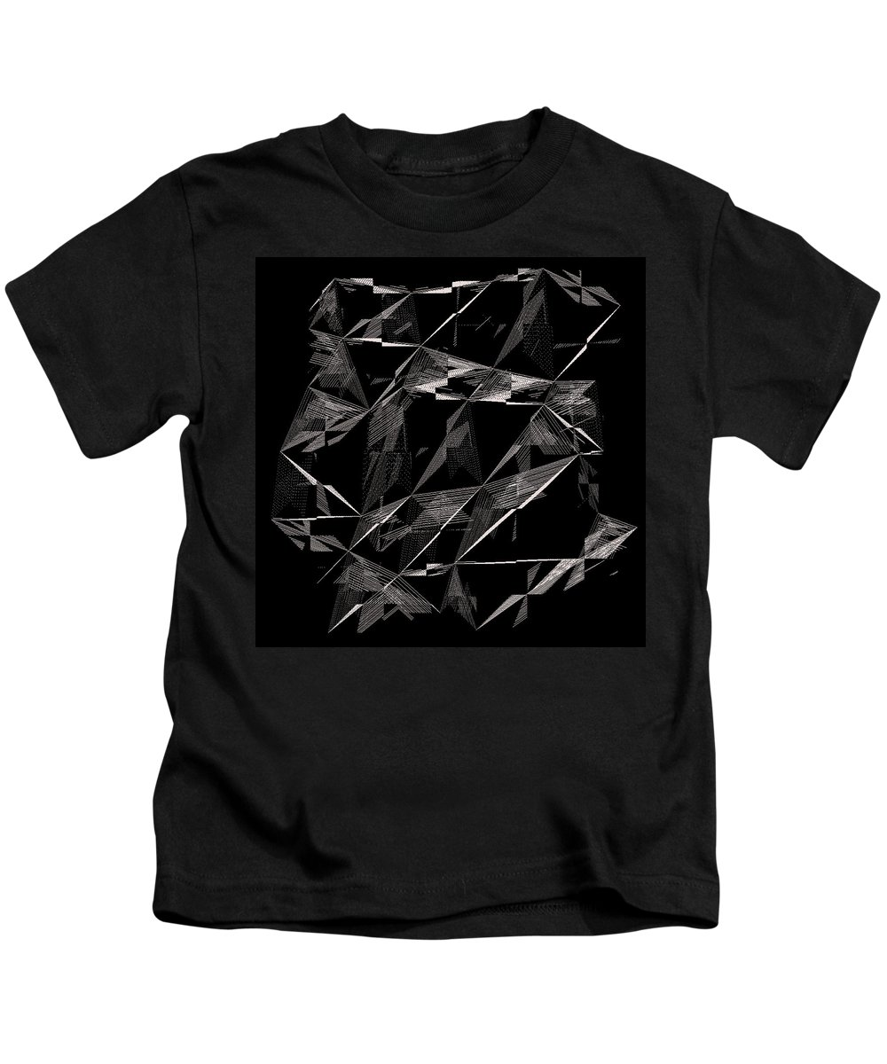 Abstract Kids T-Shirt featuring the digital art 6144.2.22 by Gareth Lewis