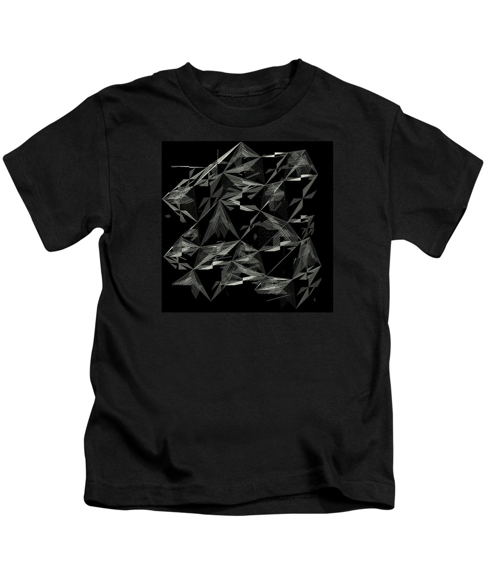 Abstract Kids T-Shirt featuring the digital art 6144.2.23 by Gareth Lewis