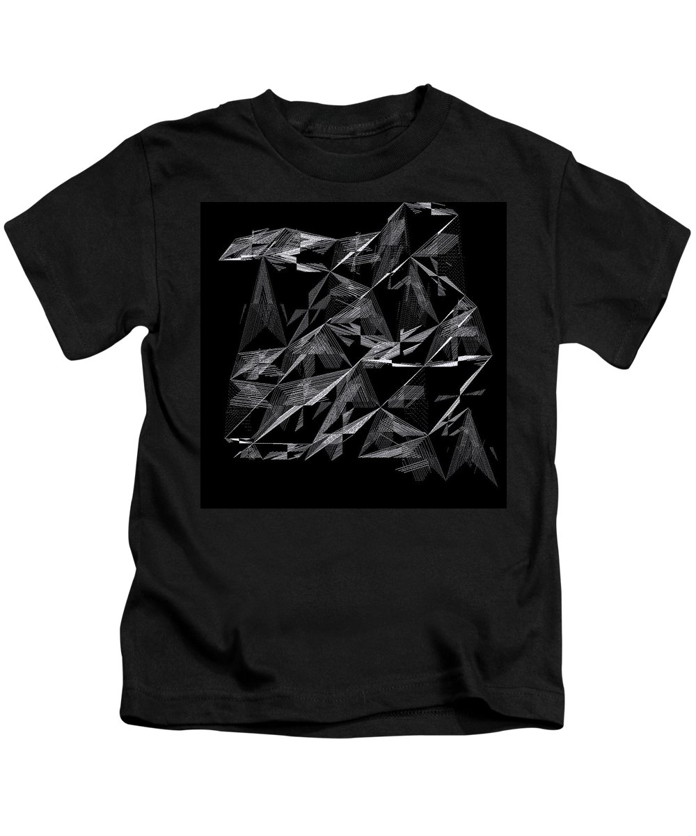 Abstract Kids T-Shirt featuring the digital art 6144.2.24 by Gareth Lewis
