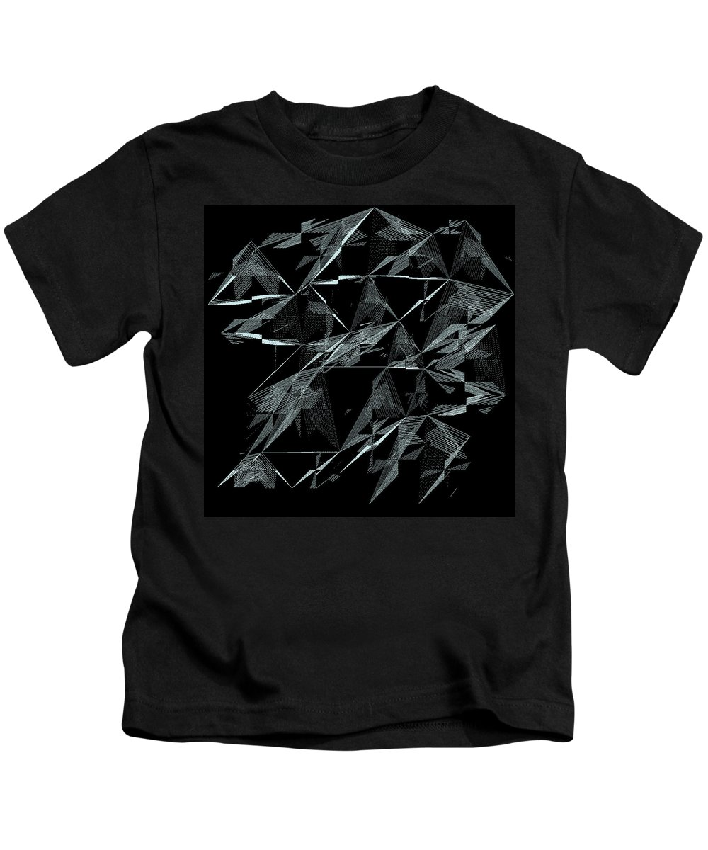 Abstract Kids T-Shirt featuring the digital art 6144.2.26 by Gareth Lewis