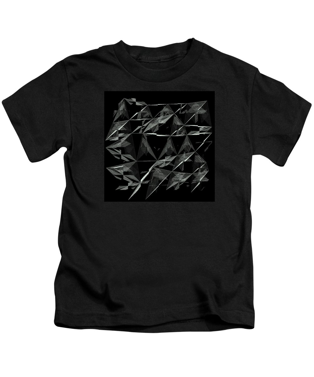 Abstract Kids T-Shirt featuring the digital art 6144.2.27 by Gareth Lewis