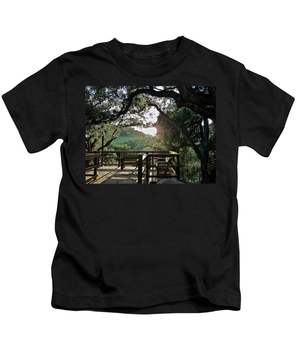 Landscape Kids T-Shirt featuring the photograph A Place To Pray by Diana Hatcher