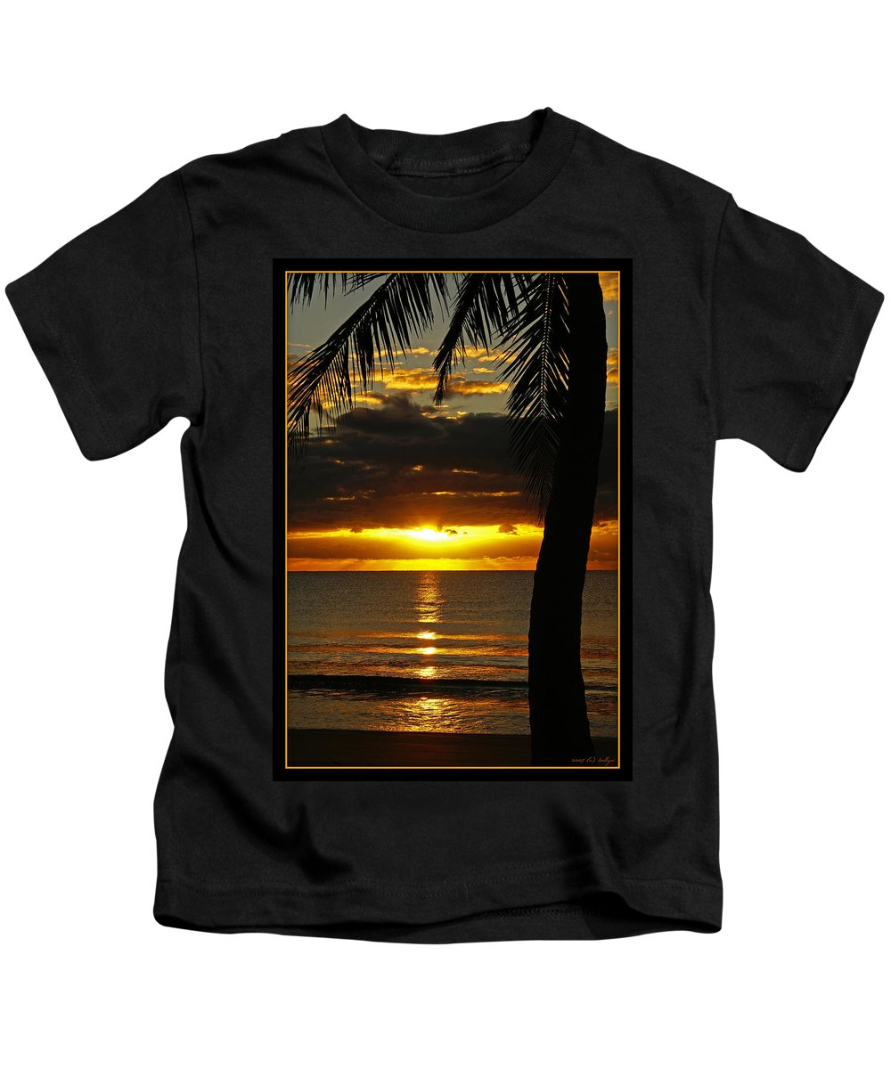 Landscape Kids T-Shirt featuring the photograph A Touch Of Paradise by Holly Kempe