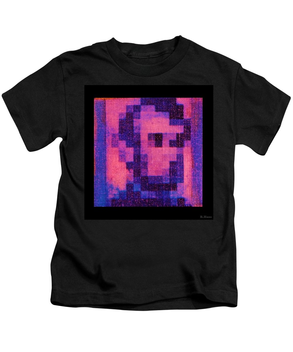 Pink Kids T-Shirt featuring the photograph Abe In Hot Pink by Rob Hans