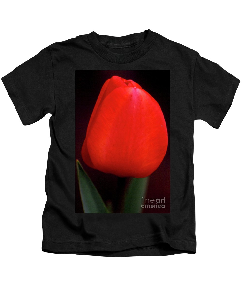 Background Kids T-Shirt featuring the photograph About To Bloom by Alan Look