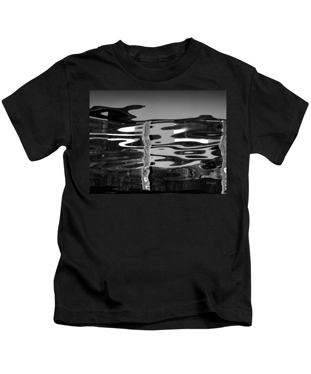 An Abstract Kids T-Shirt featuring the photograph Abstract 6b by Xueling Zou