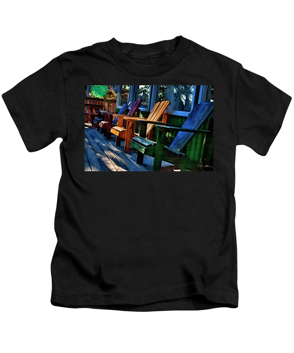 Adirondack Kids T-Shirt featuring the photograph Adirondack by Monte Arnold