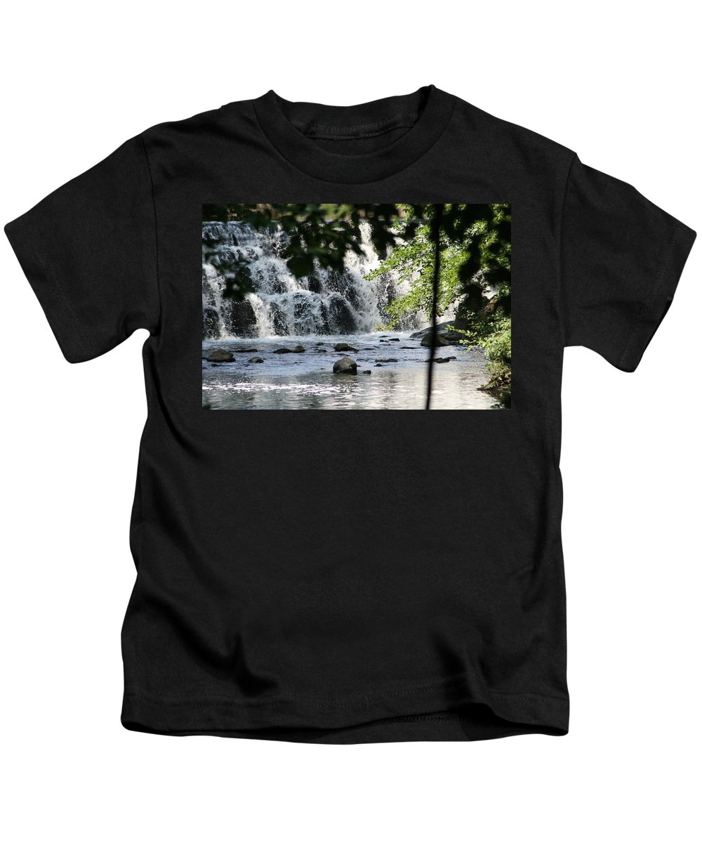 Africa Kids T-Shirt featuring the photograph Africa by Y C