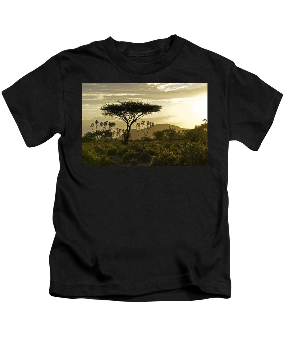 Africa Kids T-Shirt featuring the photograph African Interlude by Michele Burgess