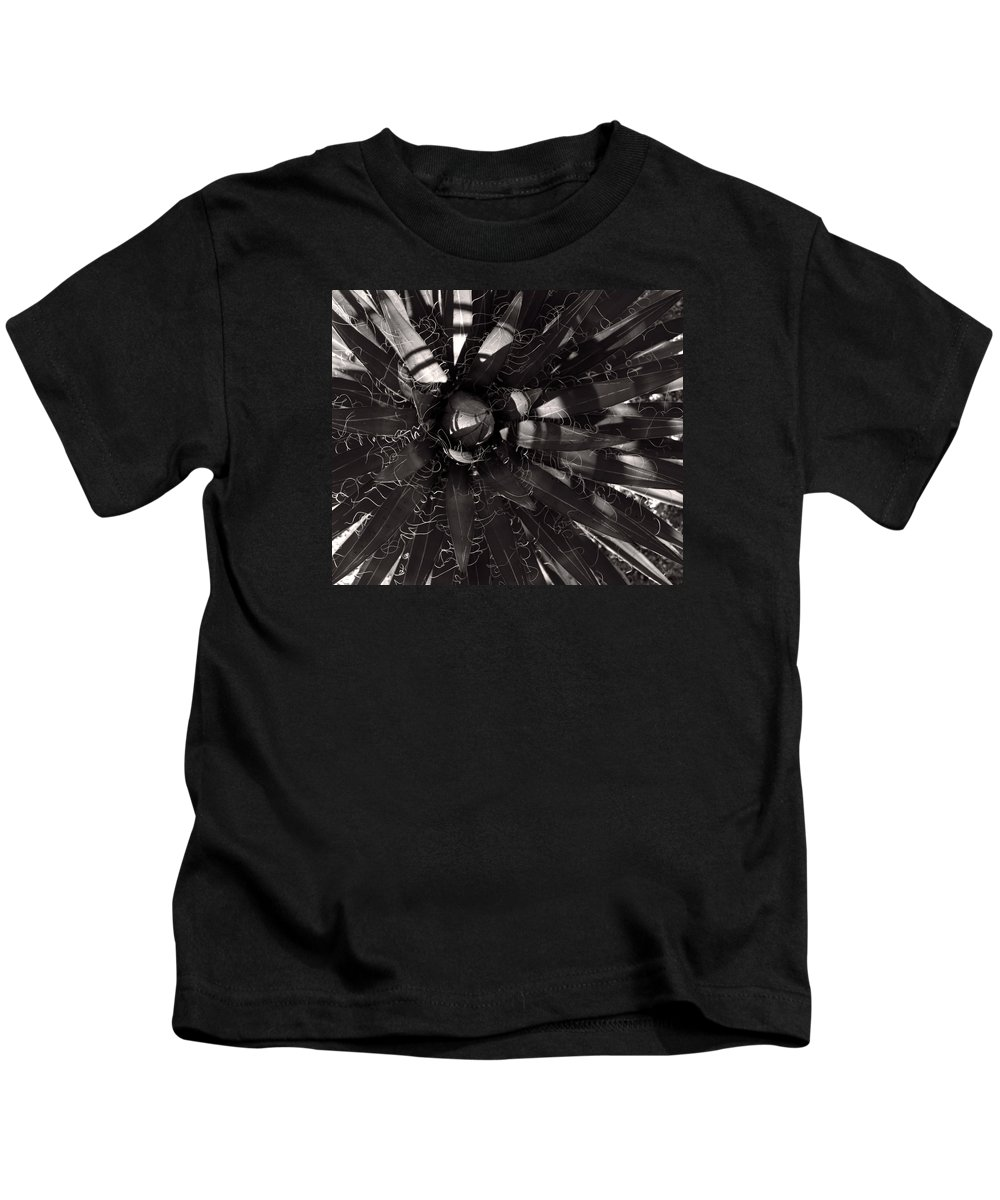 Agave Kids T-Shirt featuring the photograph Agave by Steve Bisgrove