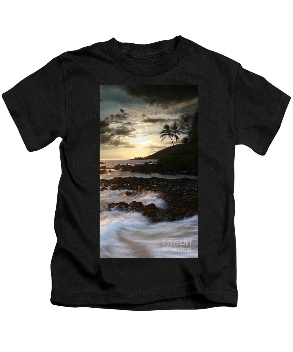 Aloha Kids T-Shirt featuring the photograph Ahe Lau Makani O Paako by Sharon Mau