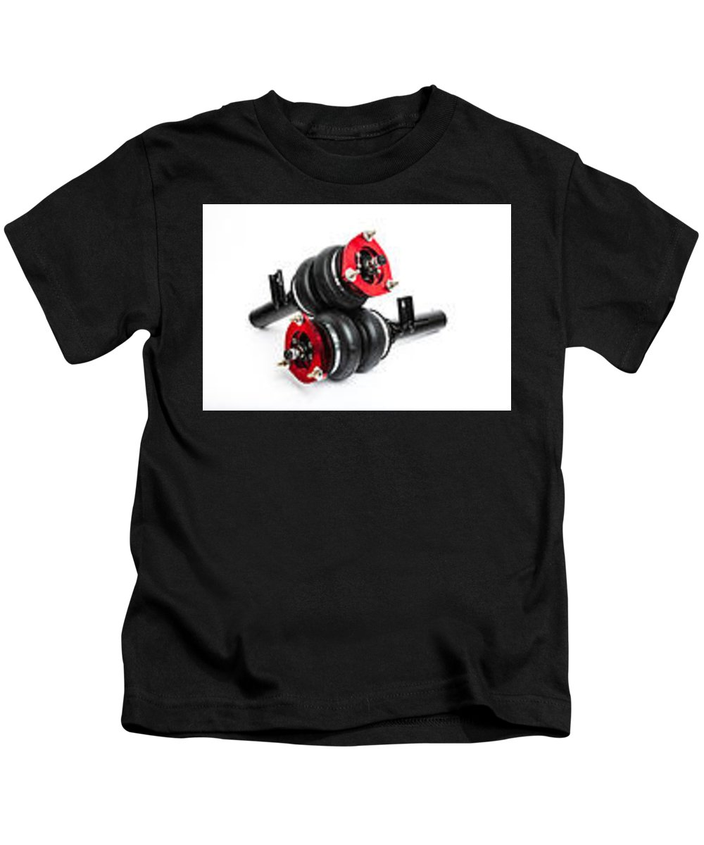 Airlift Performance Kids T-Shirt featuring the photograph Airlift Performance by Openroad Tuning