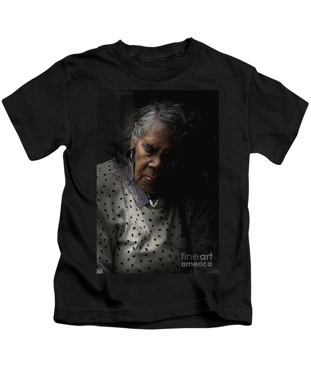 Portrait Kids T-Shirt featuring the photograph Alice by Sheila Smart Fine Art Photography