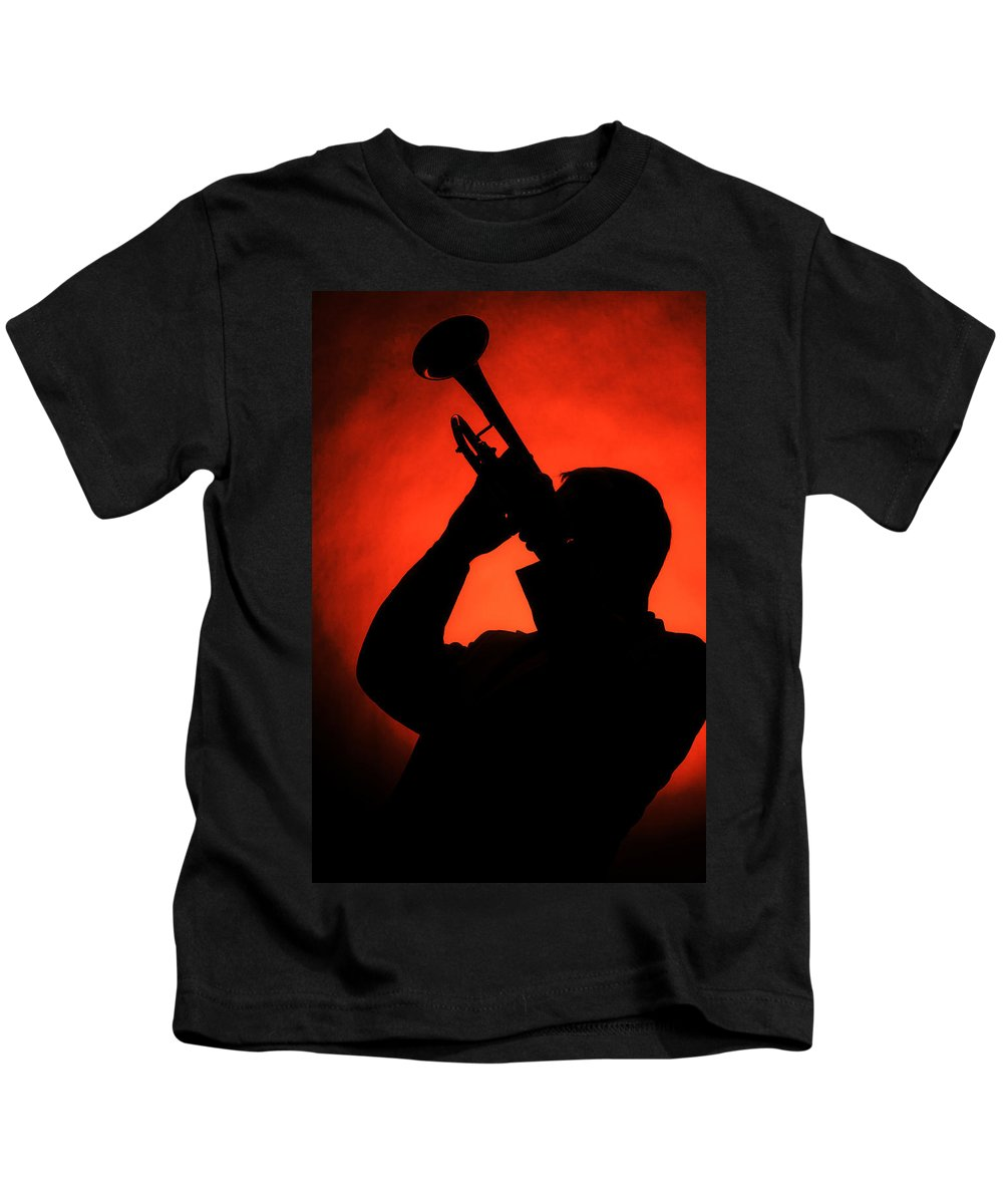 Fine Art Kids T-Shirt featuring the photograph All That Jazz by M K Miller