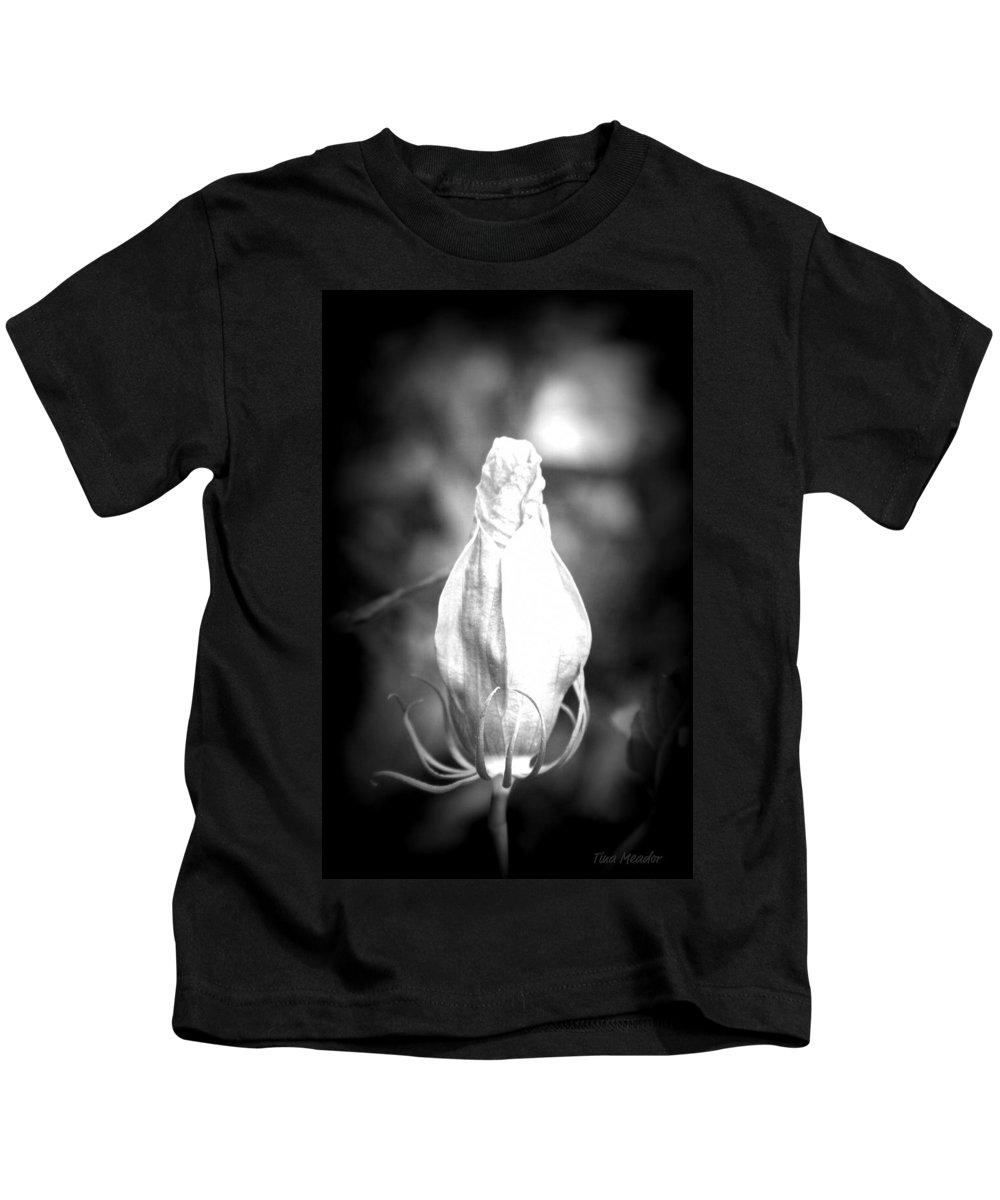 Flower Kids T-Shirt featuring the photograph Almost Time by Tina Meador