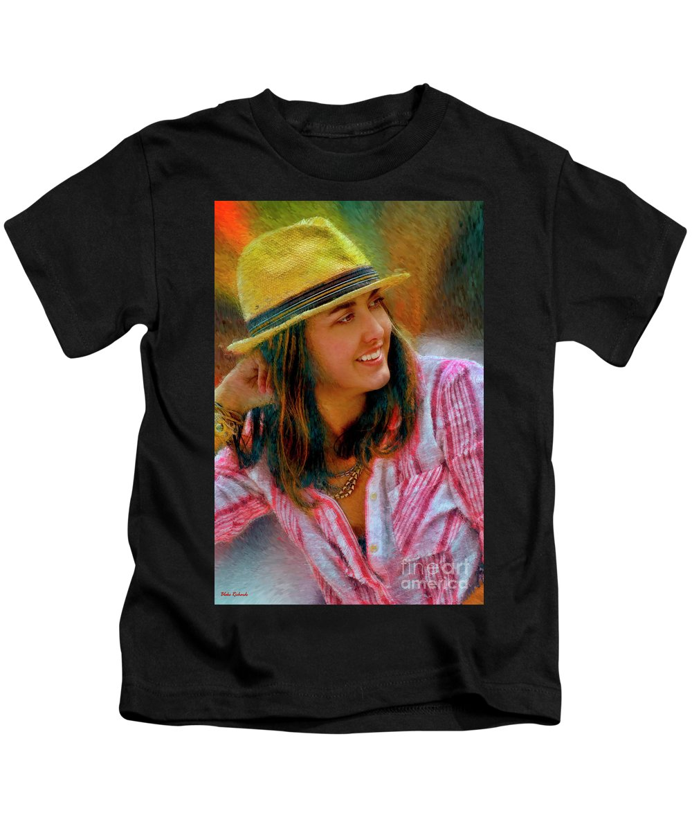 Jessica Mankin Kids T-Shirt featuring the photograph Jessica Mankin by Blake Richards