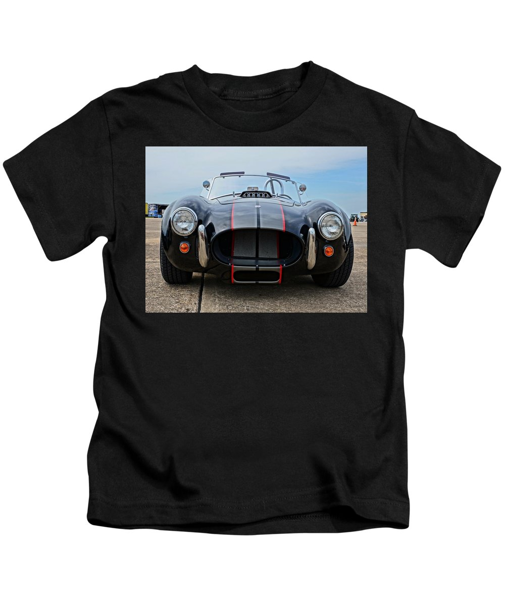 American Muscle Kids T-Shirt featuring the photograph American Muscle by Alan Hutchins