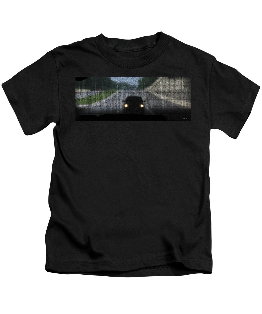 An Unwelcome Guest Kids T-Shirt featuring the photograph An Unwelcome Guest by Ed Smith