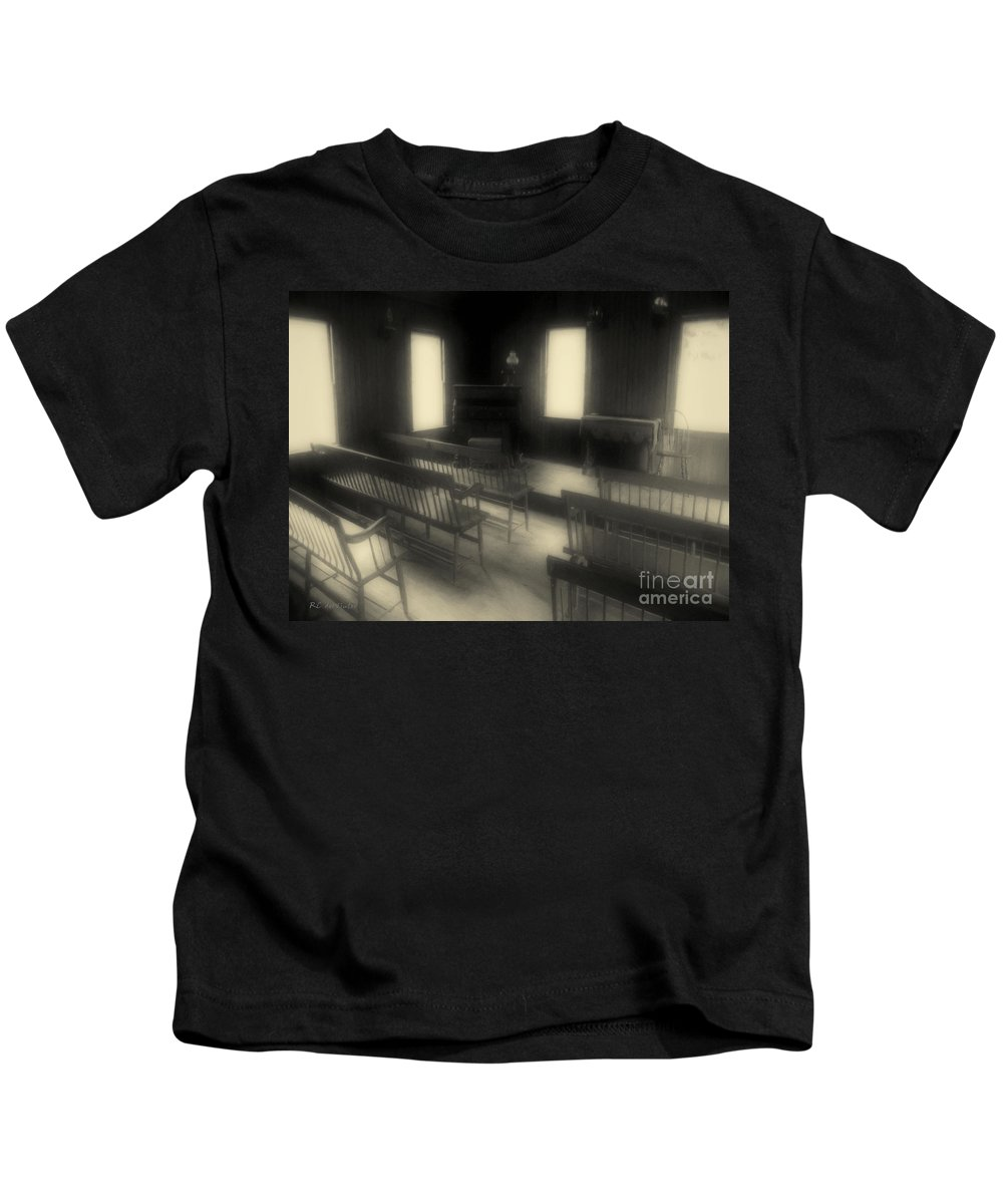 Benches Kids T-Shirt featuring the photograph Ancestor Worship by RC DeWinter