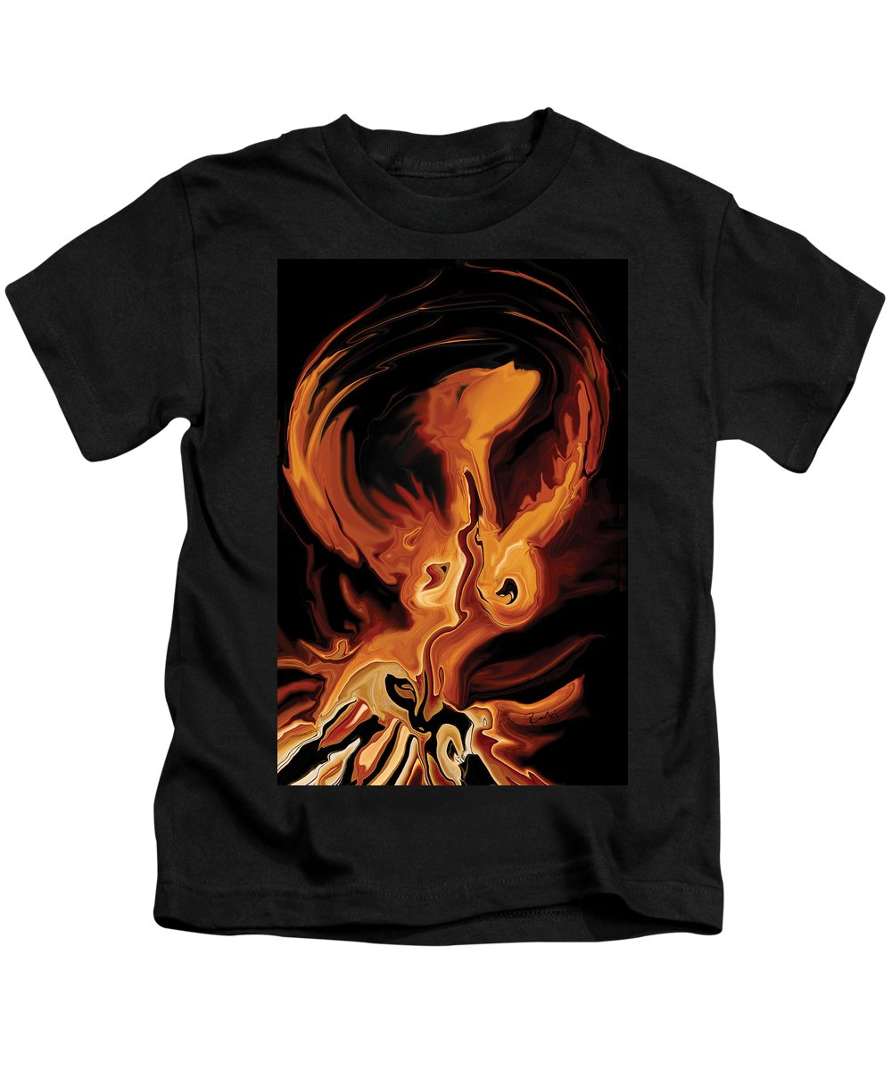 Ability Kids T-Shirt featuring the digital art Angel Dance by Rabi Khan